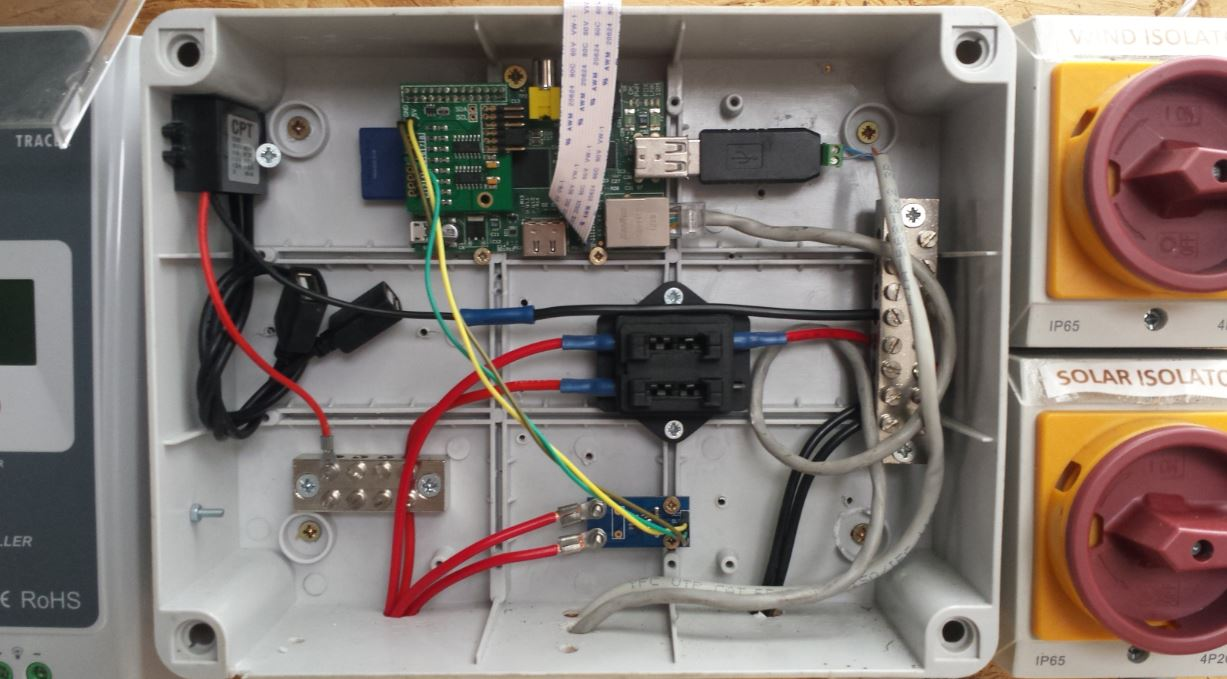 DIY Solar Powered Home - A realtime solar power monitor using the