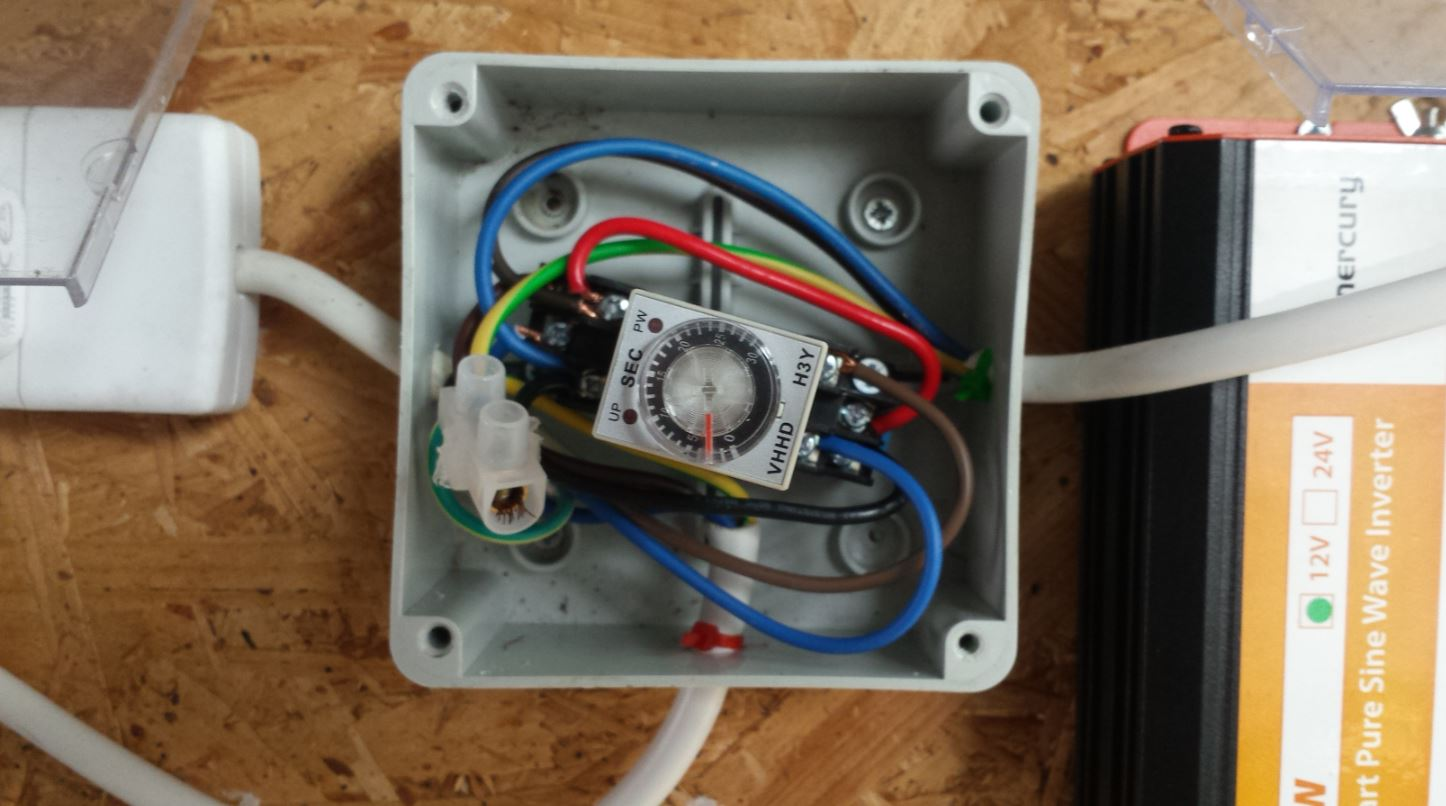 Diy solar powered home a realtime solar power monitor using the mercury 300w pure sine wave inverter freerunsca Image collections